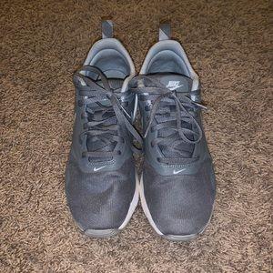 Grey Nike Women's Tennis Shoes